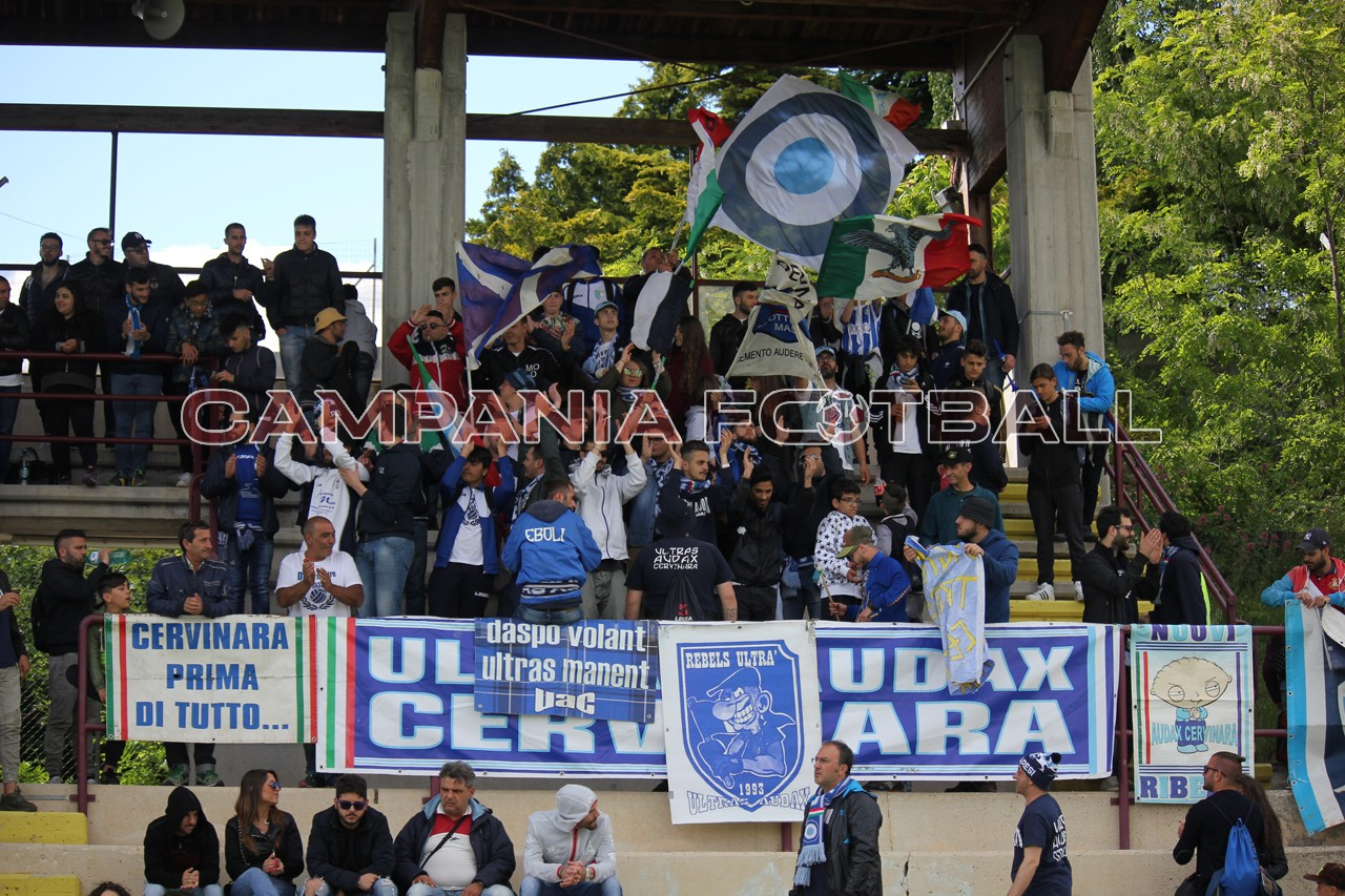 FOTO | Vastogirardi-Cervinara 1-2: facce da stadio