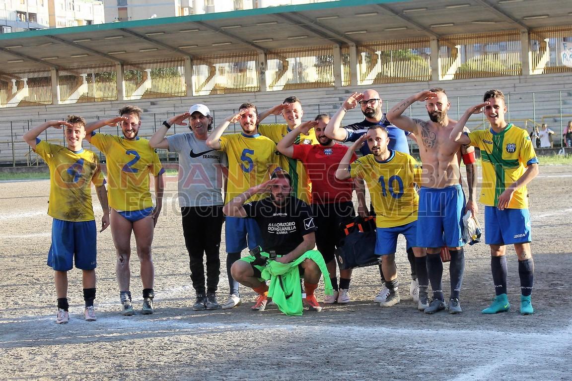 FOTO | Promozione play out | Oratorio Don Guanella Scampia 0-0 Massalubrense