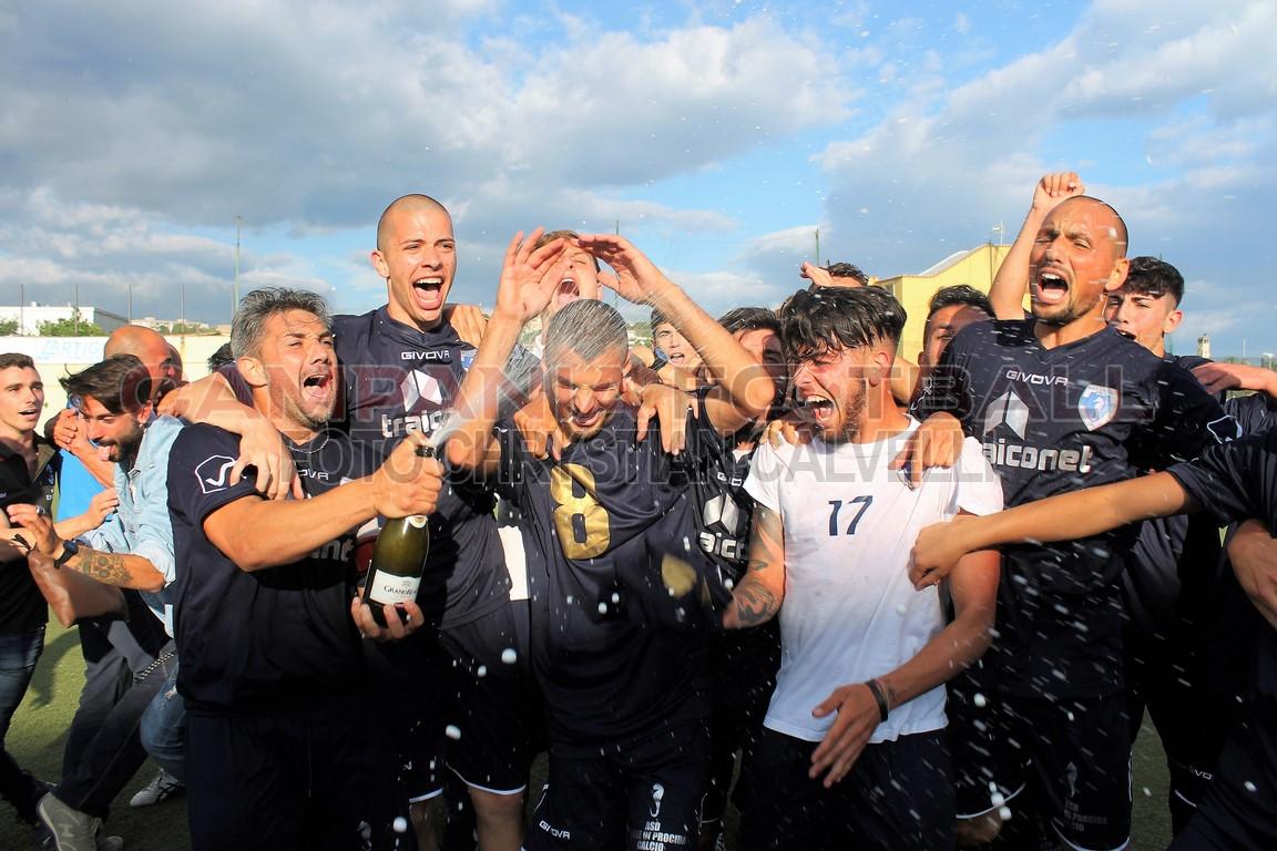 FOTO | Promozione play off | Monte di Procida 4-2 Calpazio [la festa]