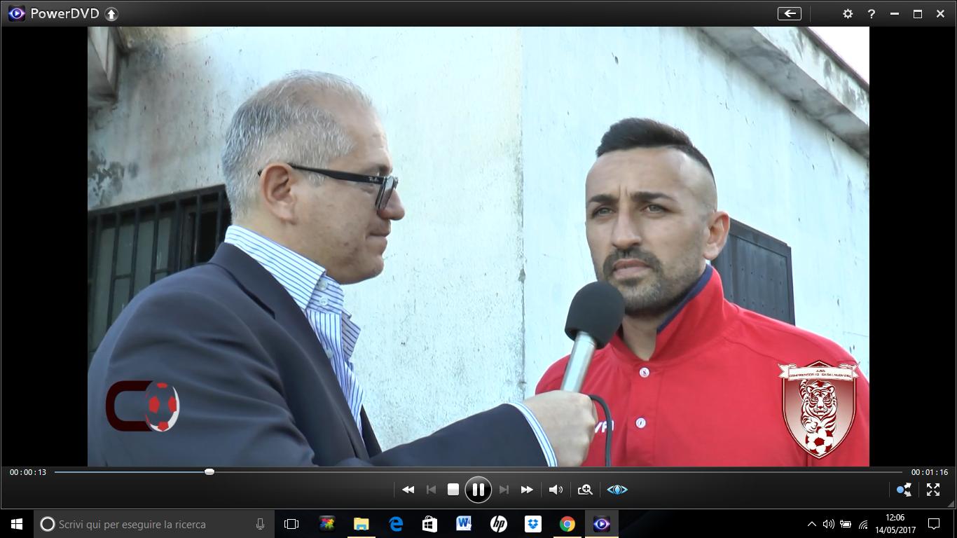 VIDEO | post gara Real S. Gennarello vs Comprensorio Casalnuovese | intervento Di Tuccio