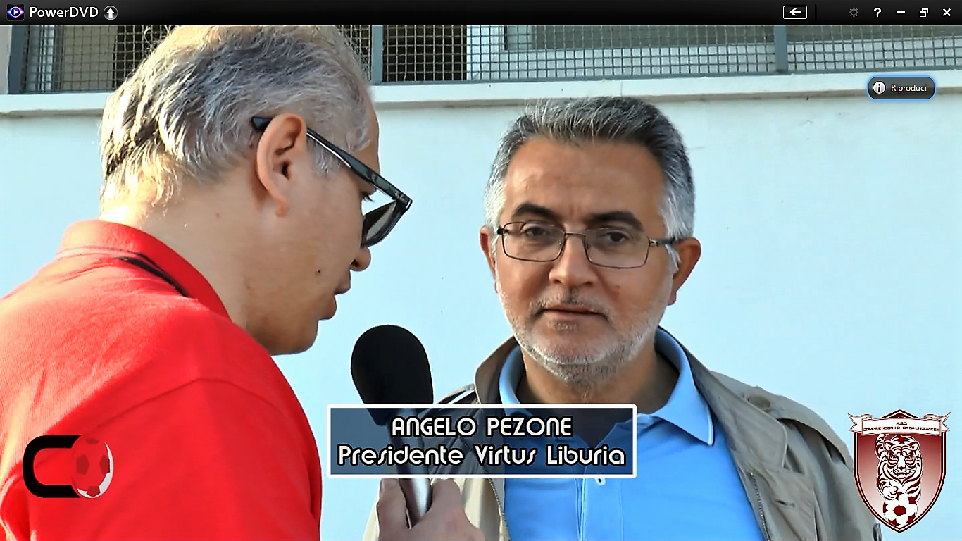 VIDEO | Virtus Liburia | dichiarazioni Angelo Pezone