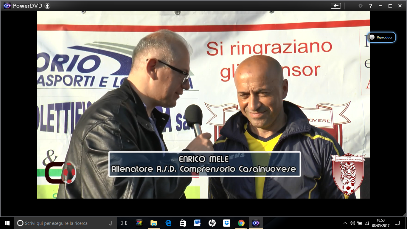 VIDEO | post gara Comprensorio Casalnuovese 0-1 Edilmer Cardito | intervento Enrico Mele