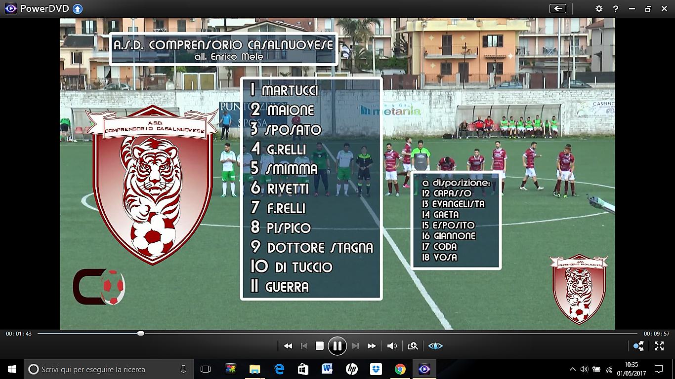 VIDEO | 1° Categoria [girone A] | Virtus Liburia 1-4 Comprensorio Casalnuovese