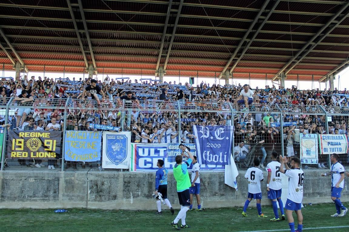 Cervinara-Folgore Selinunte: 1.160 biglietti disponibili, riapre il settore ospiti