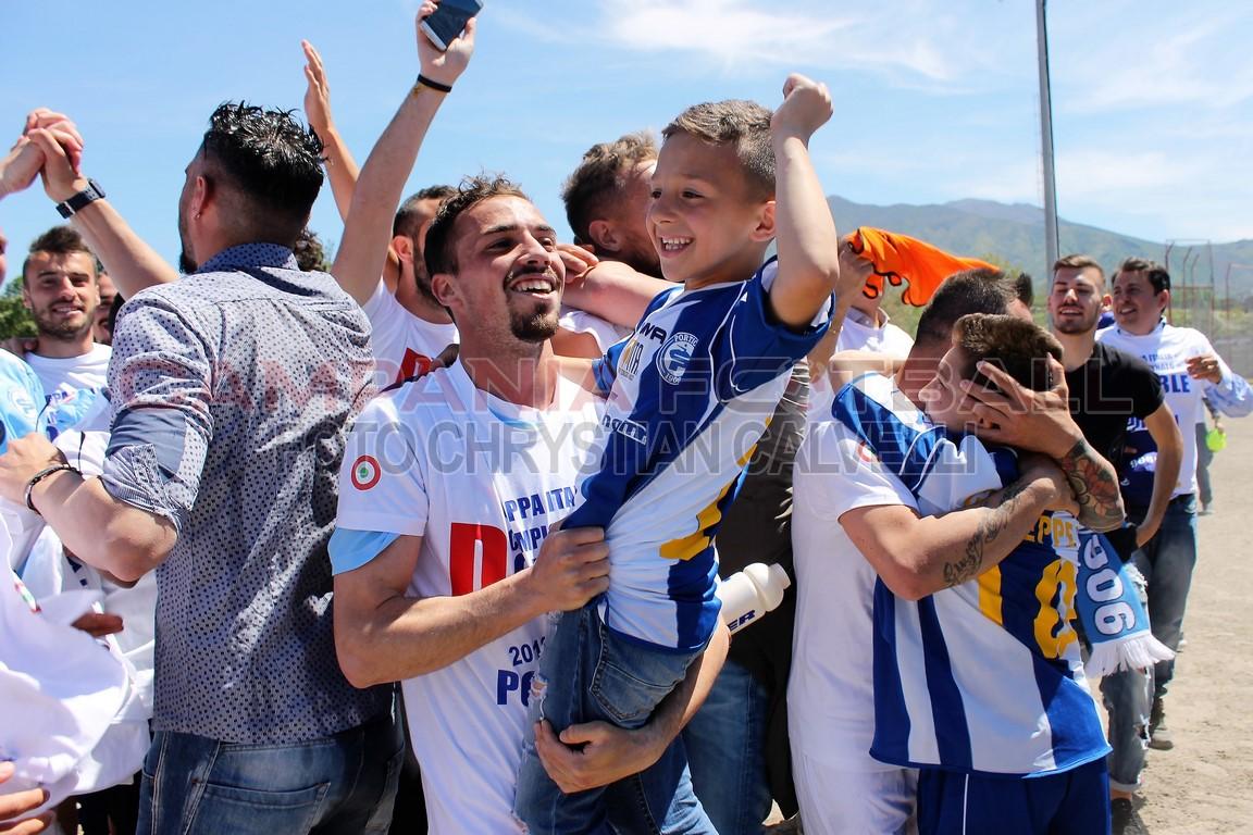 FOTO | Eccellenza Girone A: il Portici festeggia la promozione in Serie D