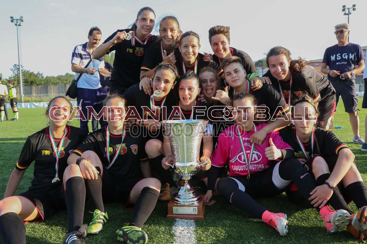 Le Streghe conquistano la Coppa Campania: 2-0 sulla Virtus Partenope