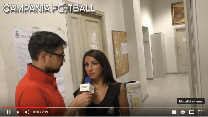 VIDEO | Asd San Nicola Manfredi: parola al Presidente Teresa Meccariello