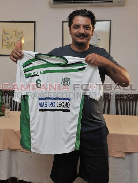 Real Forio: Conferenza stampa per il nuovo tecnico bianco verde Flavio Leo