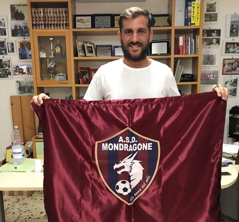 UFFICIALE | Mondragone: arriva il portiere Stefano Iaccarino