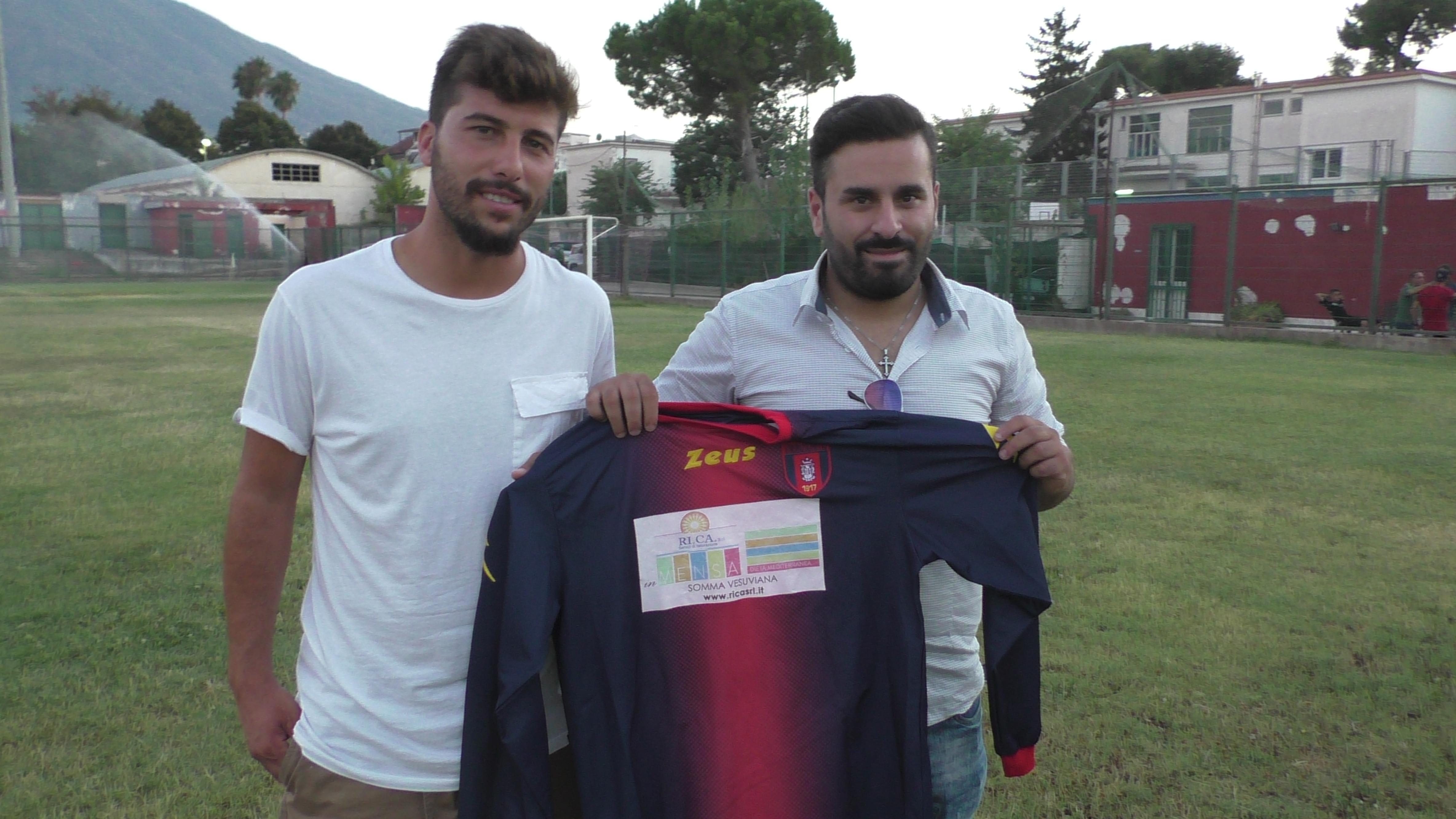 UFFICIALE | Promozione, Viribus Somma: arriva l'attaccante Imparato