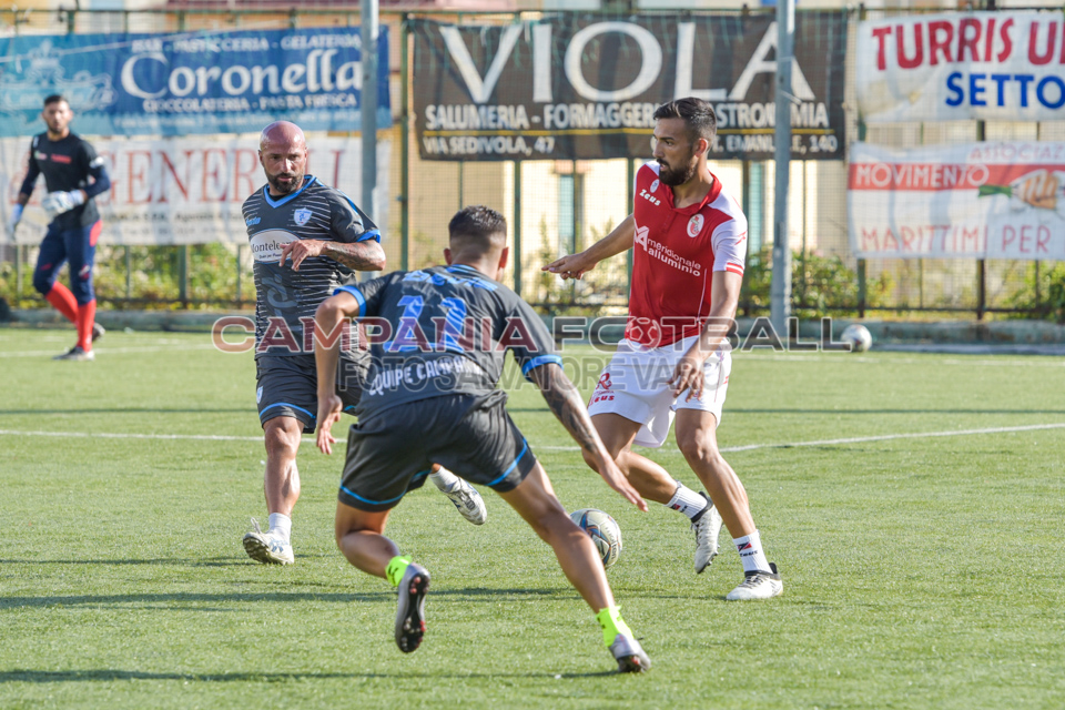 FOTO | AMICHEVOLI PRE CAMPIONATO: Turris-Equipe Campania 3-1
