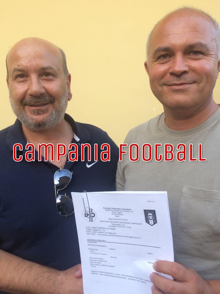 Il Gladiator si iscrive al campionato di Promozione col titolo del S. Maria la Fossa