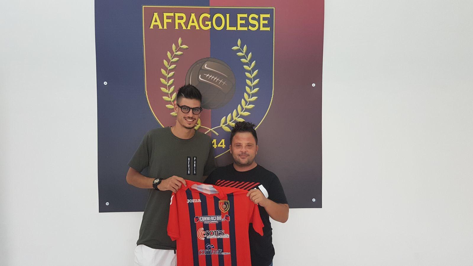 COMUNICATI | Afragolese, rinforzata la difesa con il giovane Francesco Cioce