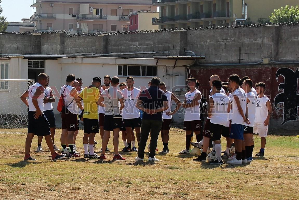 FOTO | Primo giorno precampionato Pomigliano Soccer
