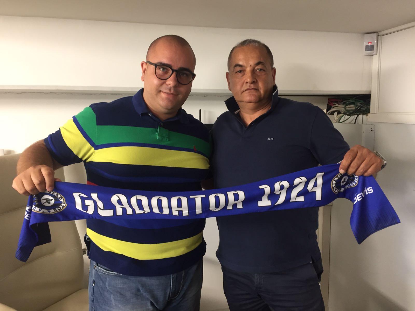 UFFICIALE | Promozione, Gladiator: alla presidenza il duo Acconcia-Montesano