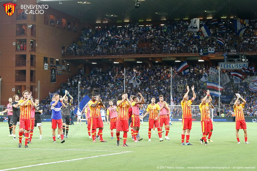Sampdoria-Benevento 2-1: le pagelle di Ezio Liccardi