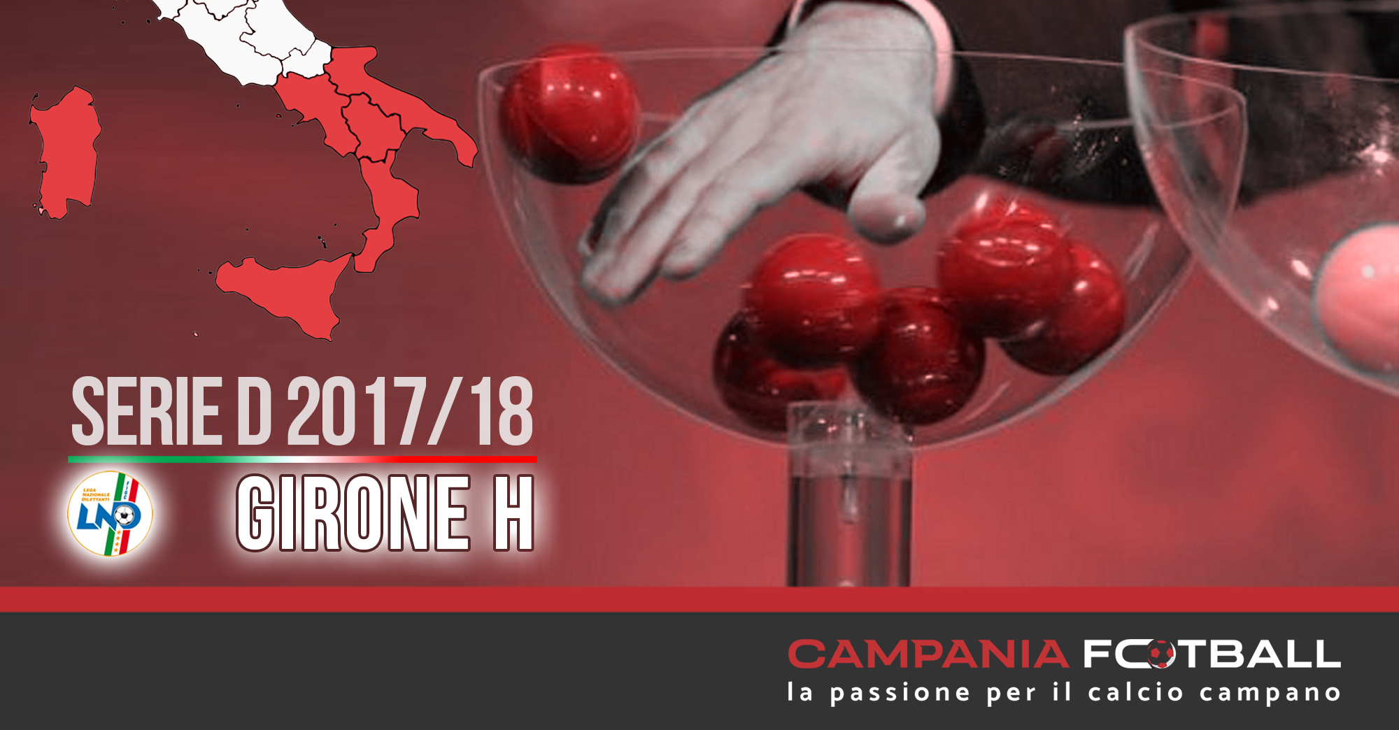 SERIE D 2017/18: LE SQUADRE DEL GIRONE H