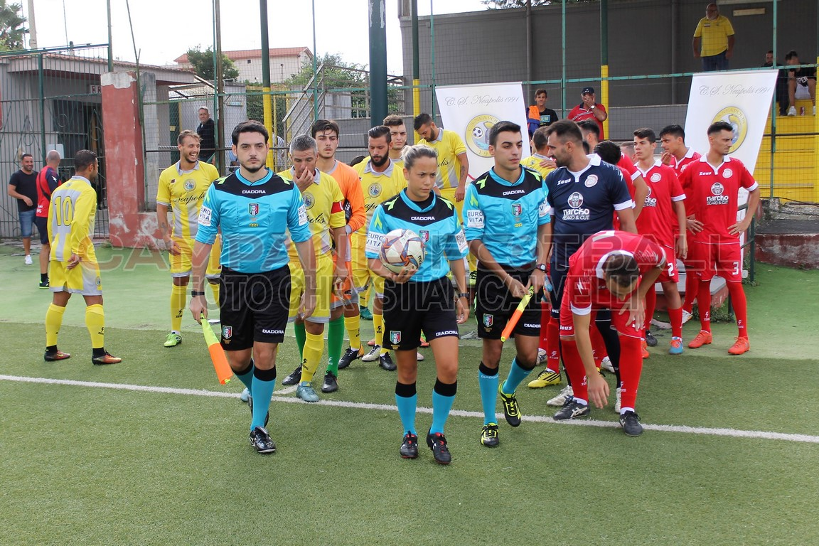 FOTO | Promozione girone B | Neapolis CS 4-0 Ponticelli