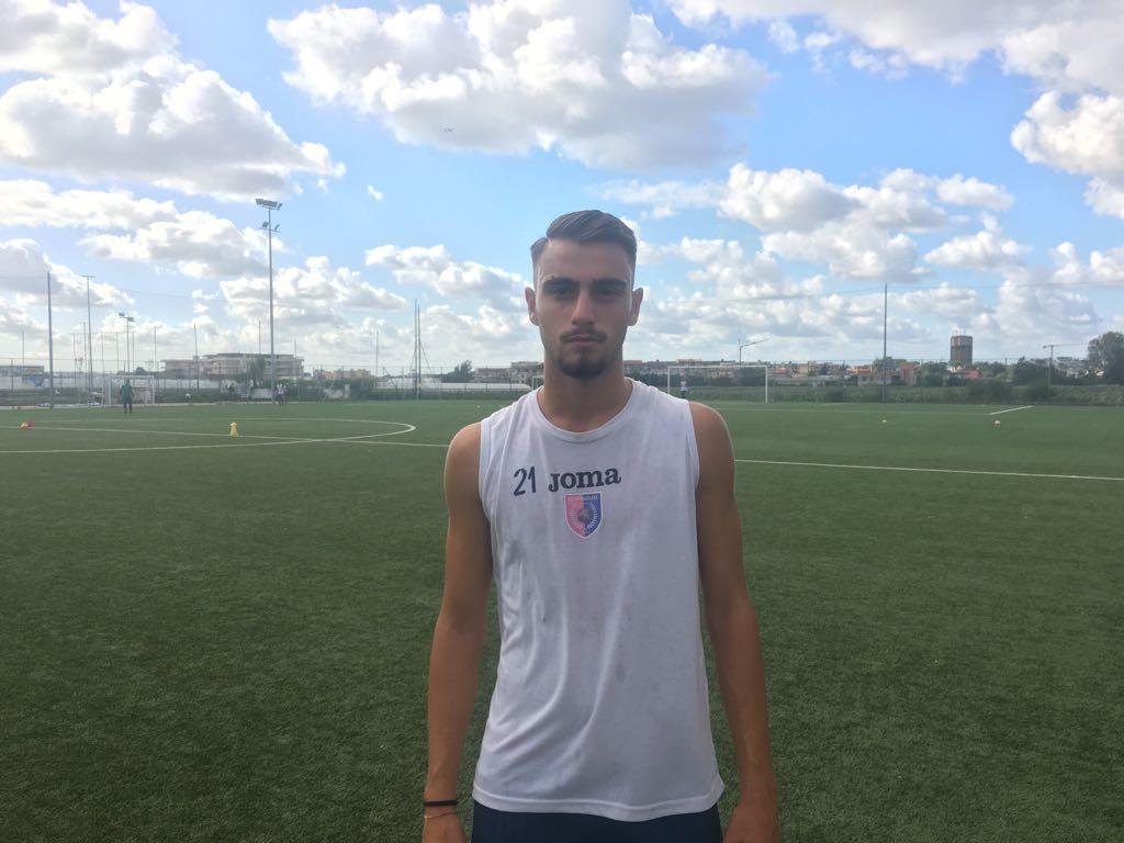 Afragolese, ingaggiato il giovane centrocampista Stanislao Cinotti