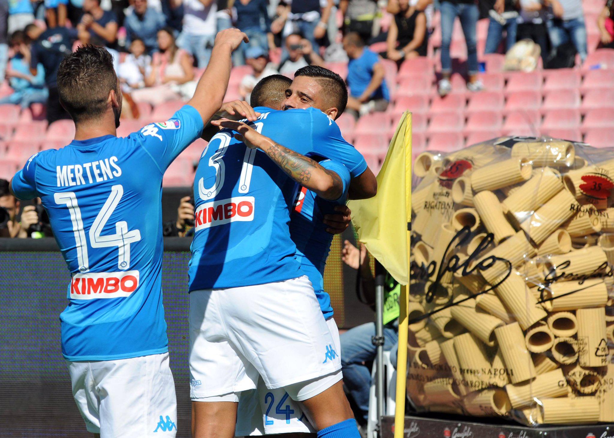 Valanga Napoli: Benevento travolto nel Derby già passato alla storia