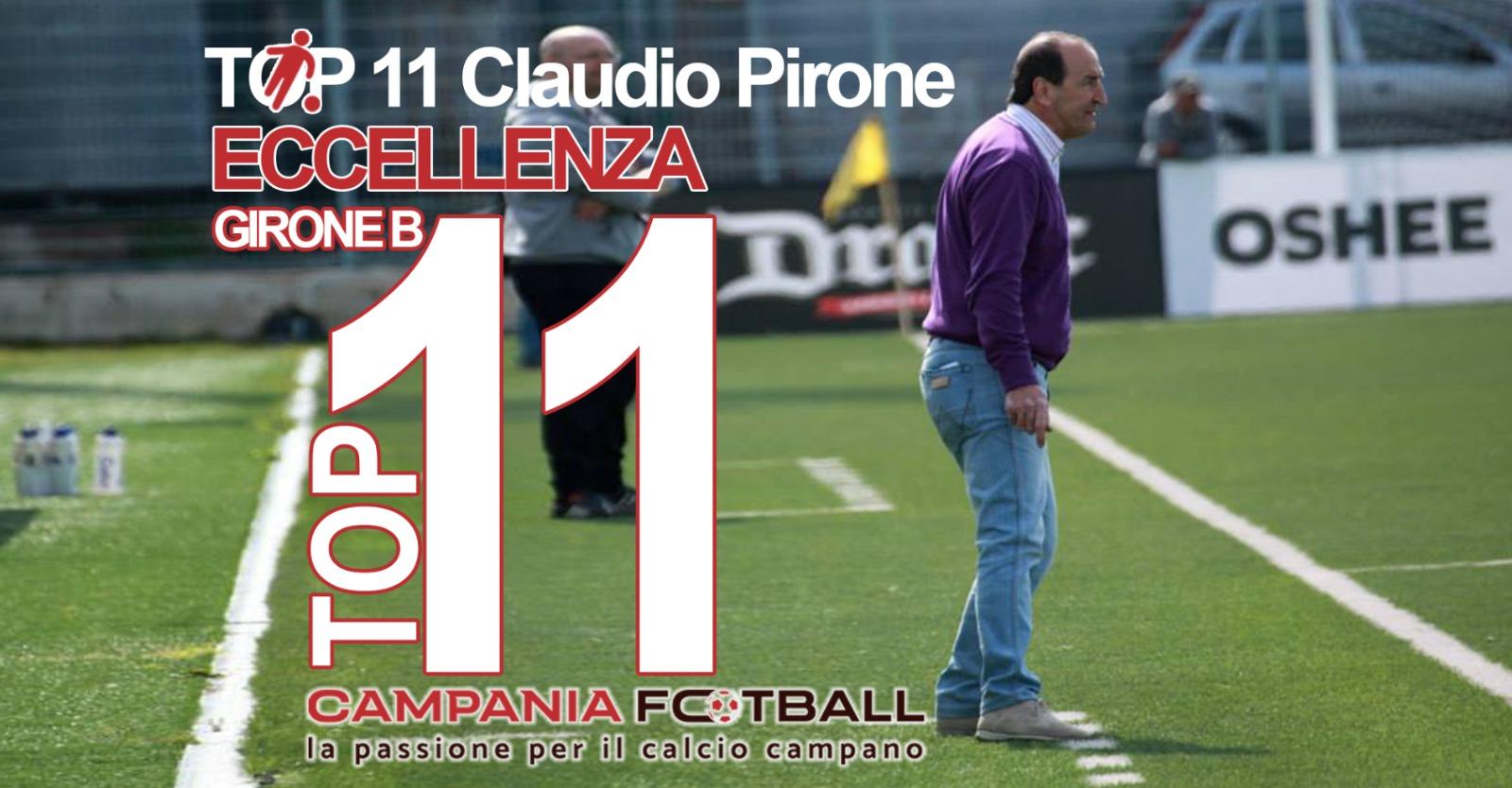 Top 11 Eccellenza Girone B: Claudio Pirone nella 17ª giornata premia…