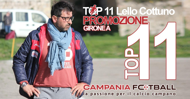 La TOP 11 di mister Cottuno: premiato Vitulazio, bene Villa Literno ed Hermes Casagiove