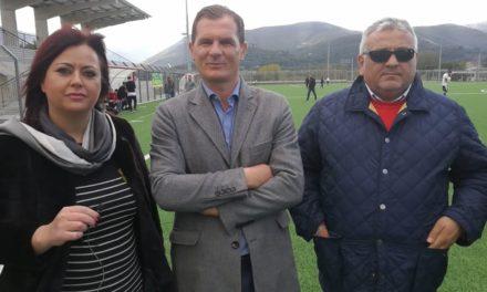 VIDEO | Amministrazione Comunale e Asd Tonino Cisterna per promuovere lo sport nel nuovo campo sportivo