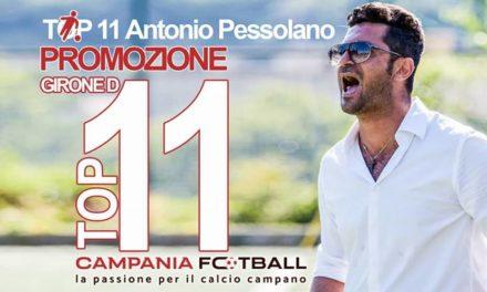 TOP 11 PROMOZIONE GIRONE D | Le scelte di Pessolano nella 21ª giornata