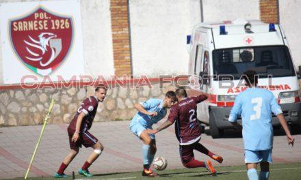 Promozione Girone D, Real Sarno 4-2 Gregoriana: il tabellino