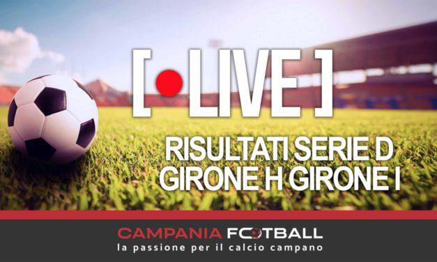 LIVE | Serie D Gironi H-I: risultati in tempo reale