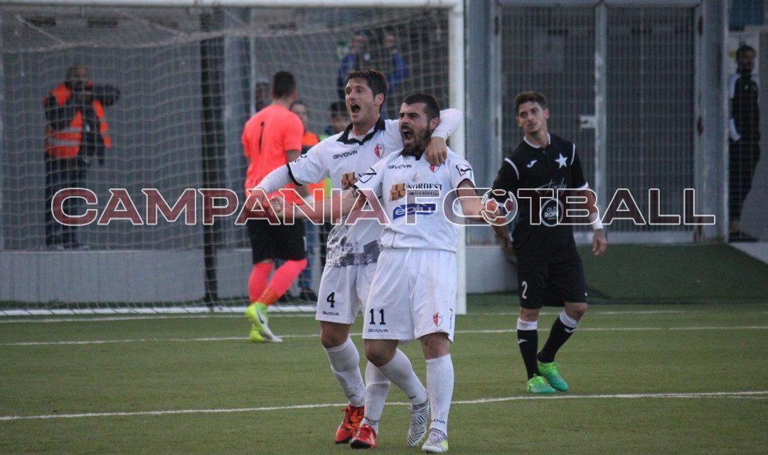 Esposito-Sardo, il Savoia vola: 2-0 al Barano e settima vittoria consecutiva