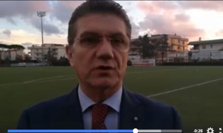 VIDEO | Ercolanese, Mazzamauro: «Ho visto una squadra senza carattere e poco reattiva»