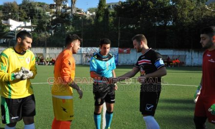 FOTO | Prima Categoria Girone A, Lacco Ameno-Citta di Qualiano 2-3: sfoglia la gallery