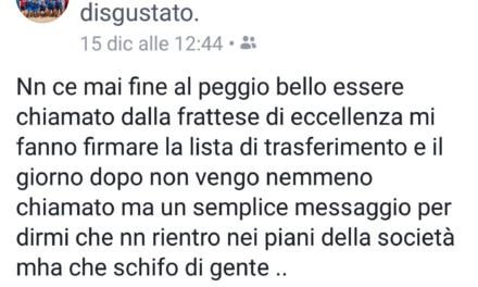Scarparo attacca la C. Frattese su Facebook