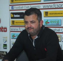 """Sant'Agnello, il nuovo tecnico Nardo: """"Dobbiamo lavorare sotto l'aspetto fisico e mentale"""""""