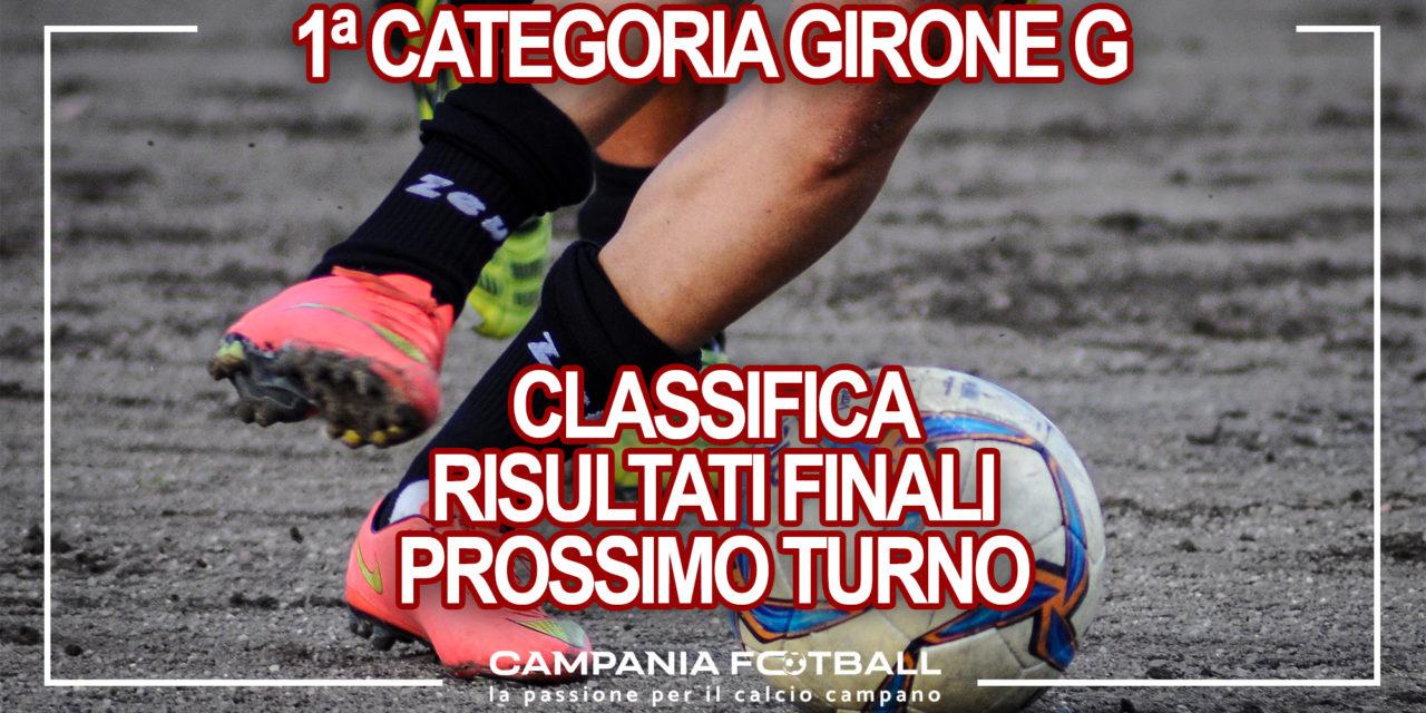 PRIMA CATEGORIA GIRONE G: Risultati 17° Giornata, classifica e prossimo turno