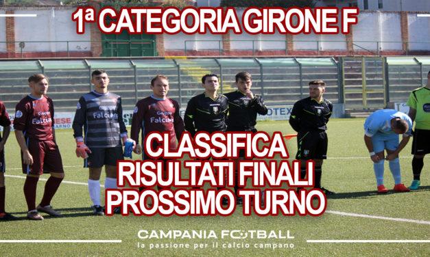 PRIMA CATEGORIA GIRONE F: Risultati 34ª Giornata, Classifica e Verdetti Finali