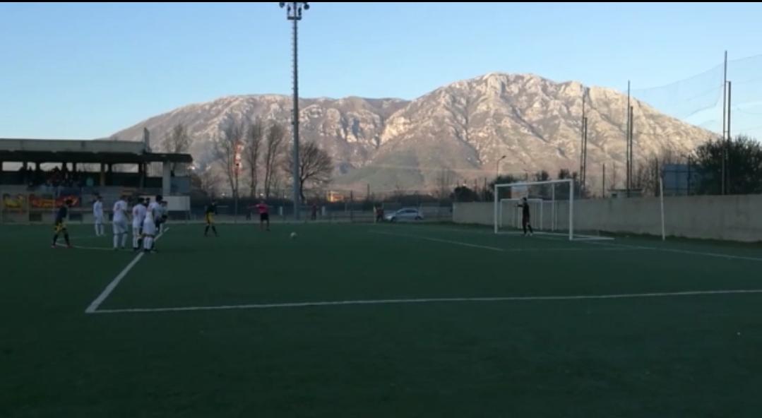 VIDEO | Promozione, derby sannita Paolisi – Montesarchio: il rigore parato da Napolitano