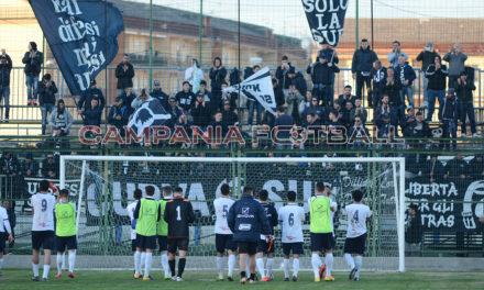Foto| Serie D Girone H| L'Imponente esodo dei metelliani ad Aversa per il derby.
