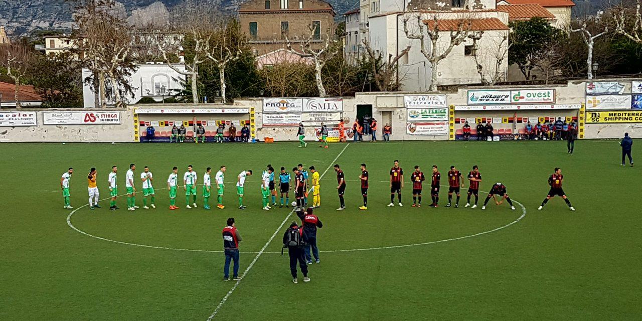 ECCELLENZA/B. Il Sorrento all'inglese sul Faiano. Di Ruocco e Vitale regalano tre punti ai rossoneri