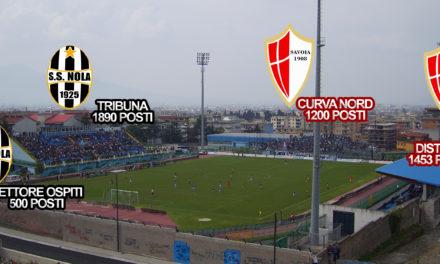 Finale Coppa Italia, la divisione dei settori dello Stadio Marcello Torre