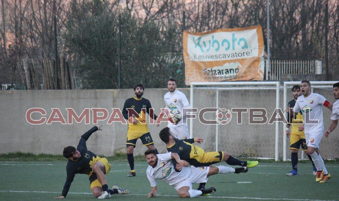 FOTO   Promozione Girone C, derby sannita: Paolisi '92-Montesarchio 1-0