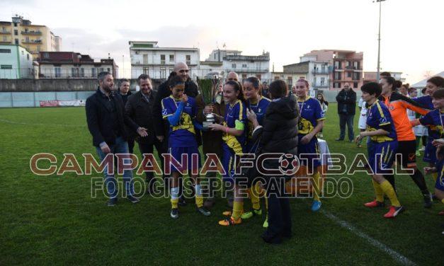 VIDEO | Coppa Campania Femminile: momenti della premiazione