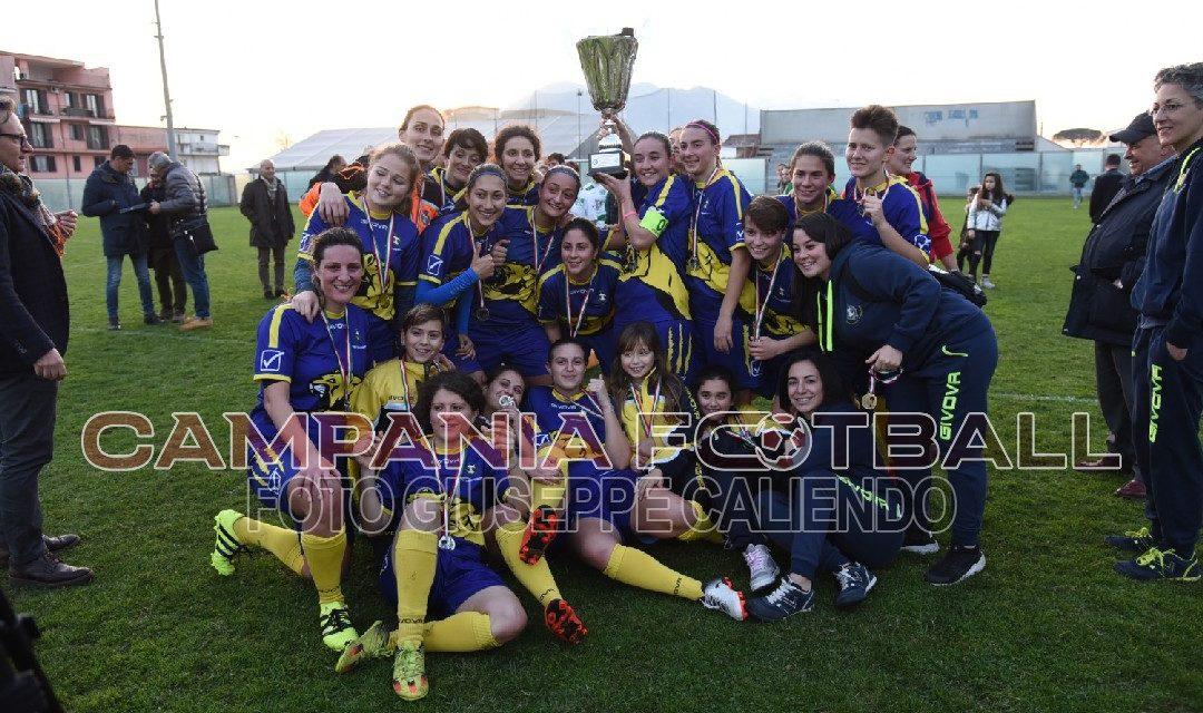 FOTO | Coppa Campania Femminile: finale Afro Napoli United-Sant'Egidio 1-7