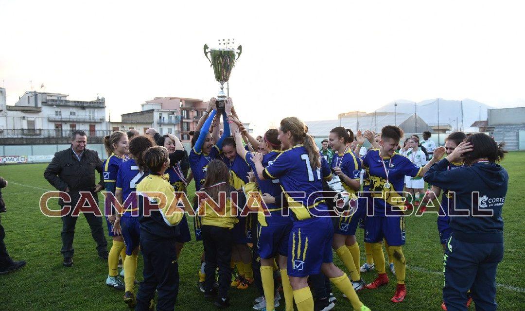 Coppa Campania Femminile | Sant'Egidio campione: Afro Napoli United sconfitto 7-1
