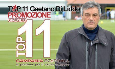 TOP 11 PROMOZIONE GIRONE B | Gaetano Di Liddo schiera il 4-3-3 e premia…