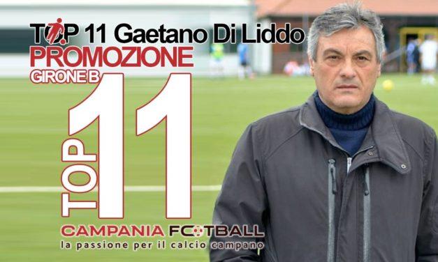 TOP 11 PROMOZIONE GIRONE B: Gaetano Di Liddo schiera il 4-3-3 e premia…