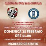 Svolta in casa Pro San Giorgio Soccer: Definito il nuovo organigramma societario