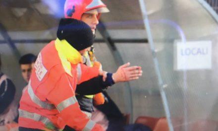 Sarnese-Cavese: volontario ferito ad una mano da un petardo