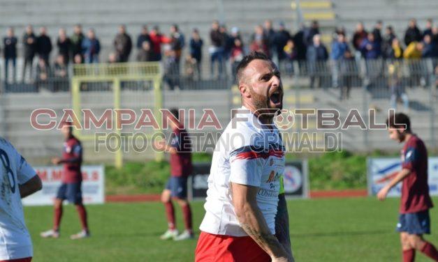 Il 350mo gol in carriera di Manzo permette all'Afragolese di espugnare Mondragone